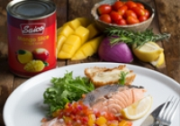 Salmon Fillet with Mango Salsa